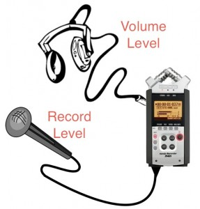 Record and Volume Levels