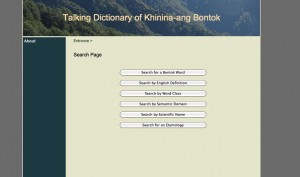 Talking Dictionary of Khinina-ang Bontok