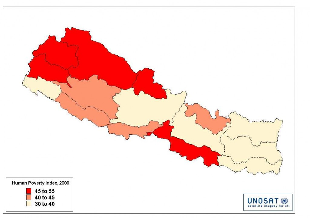 U.N. Human Poverty Index for Nepal