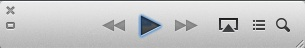 iTunes 11 Mini-player