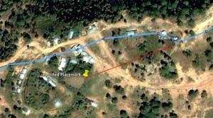 GoogleEarth Displaying GPS Trace from Garmin Venture HC