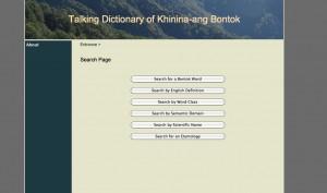 Talking Dictionary of Khinina-ang Bontok