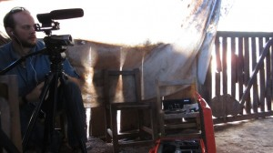 Video Taping Stories in Mexico