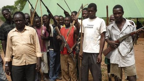 Some South Sudanese have already taken up arms against Kony