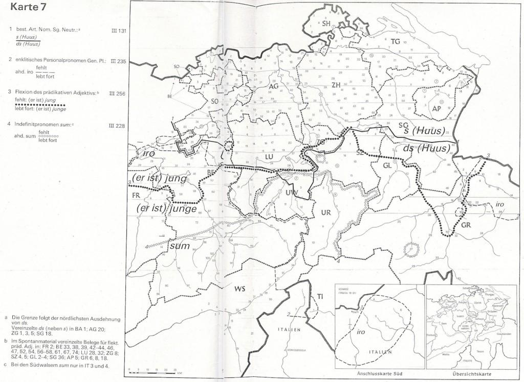 German swiss map combined 2