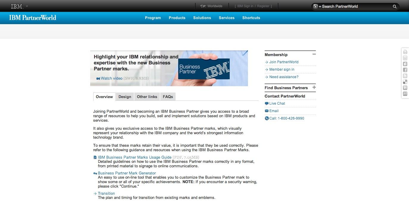 IBM Business Partners logo