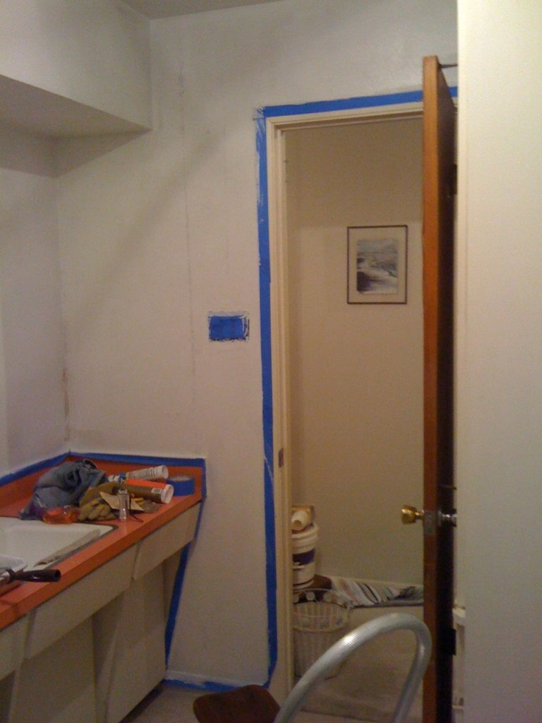 Bathroom Kilz'd 3