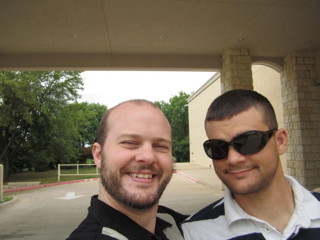 Hugh and Jed at SMU