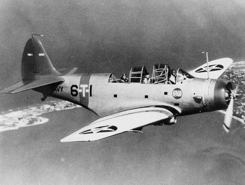 U.S. Navy Douglas TBD-1 Devastator
