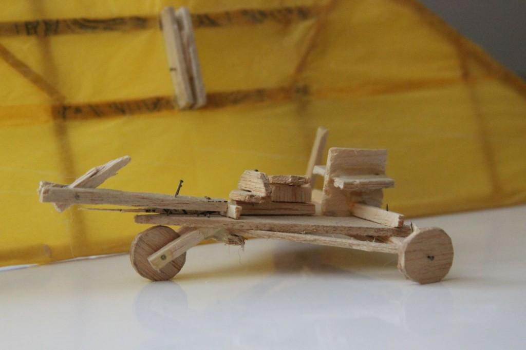 Remains of the Balsa Wood Ultralight Model