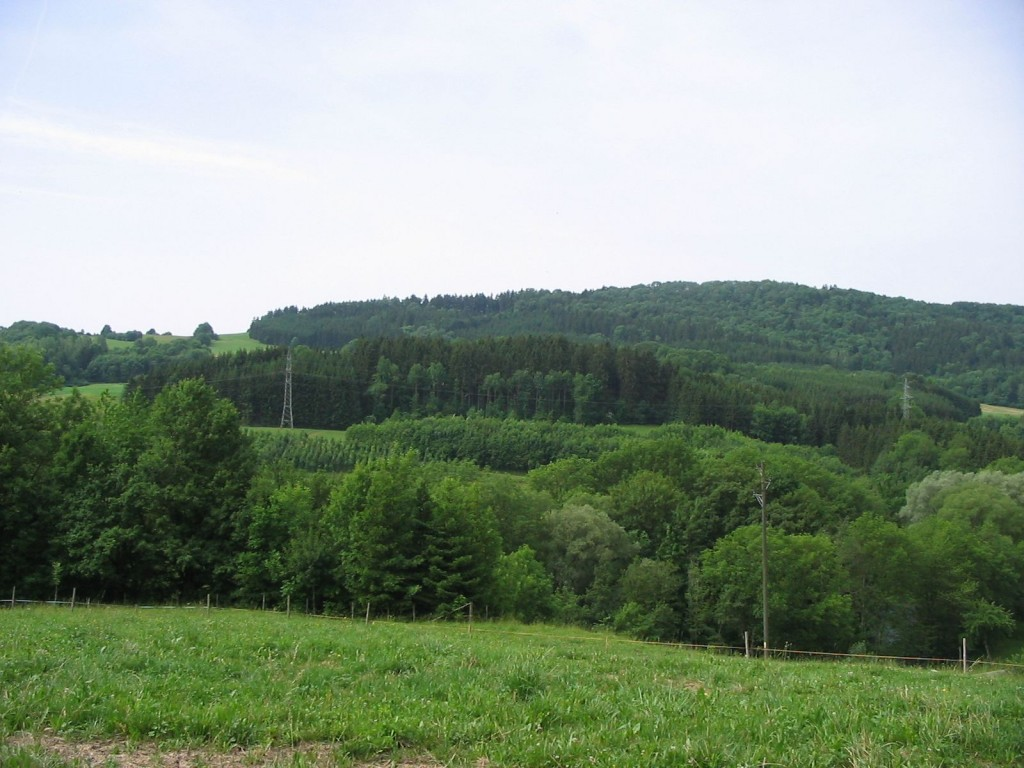 View of Hills from Achdorf, Germany