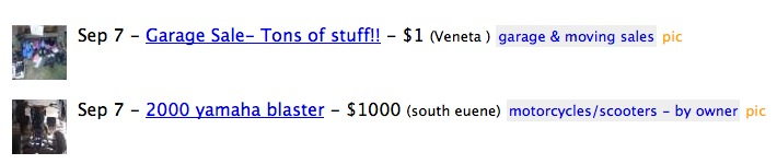 Craigslist as it currently is.