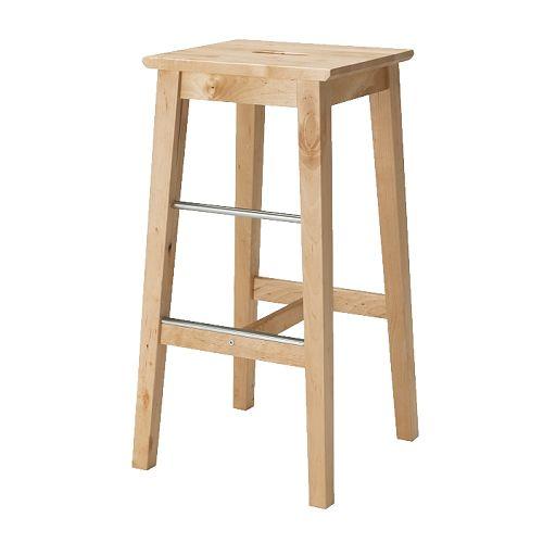 Ikea bosse birch bar stool