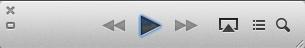 iTunes 11 Mini-player