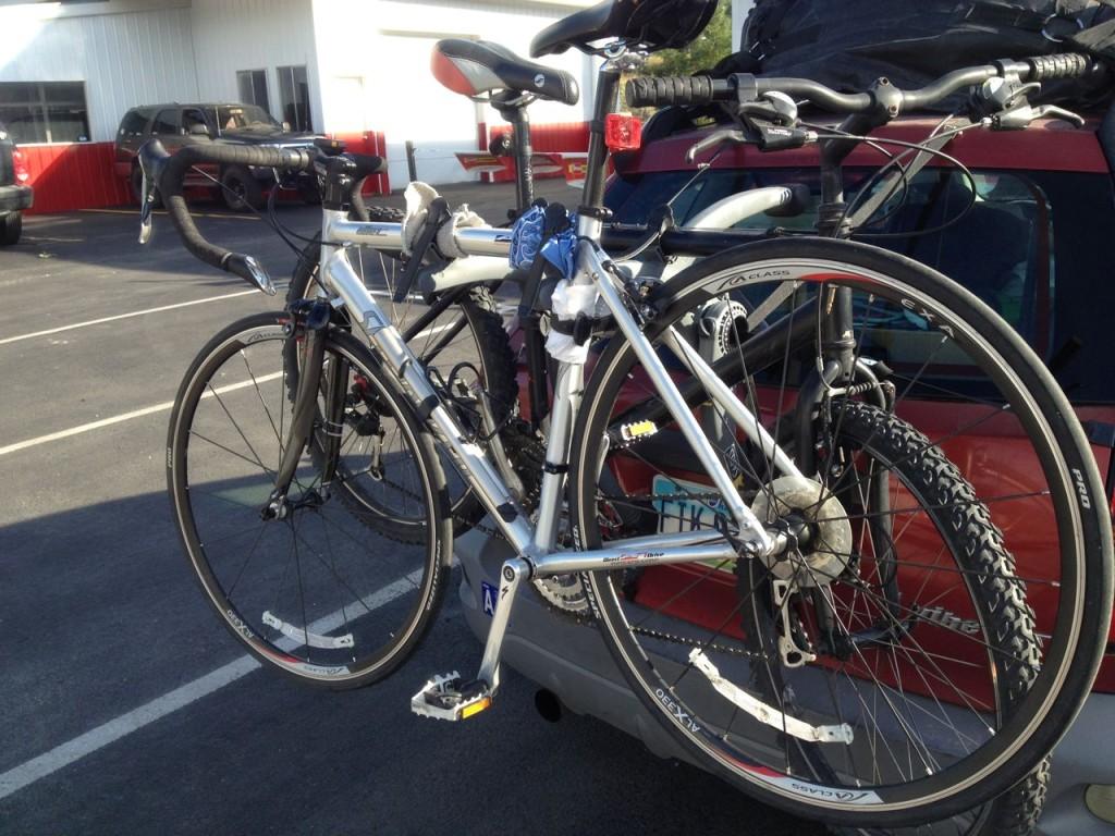 Bike's Taken back to Oregon.